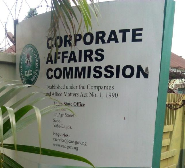 Plans to rescue infirmbusinesses in Nigeria-CAC