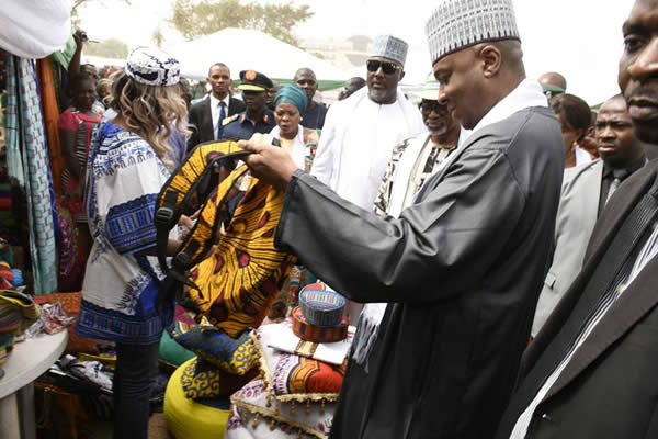 Made in Aba' trade fair, Saraki hails Nigerian products