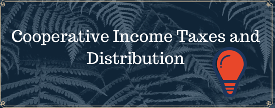 About Cooperative Income Taxes and Distribution